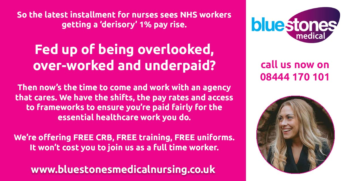Bluestones Medical Nursing pay