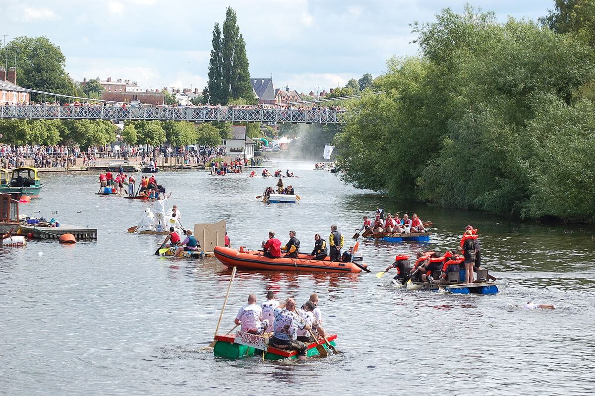 Chester Raft Race