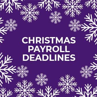 Christmas payroll deadlines
