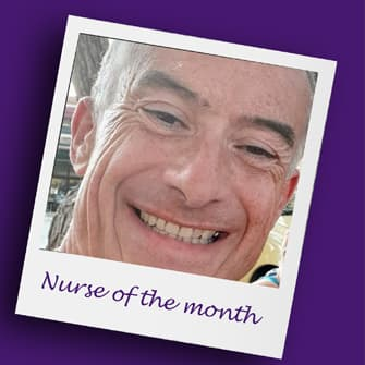 Nurse of the month Mick