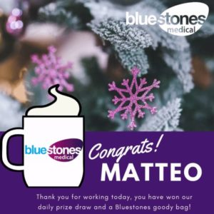 Congratulations to Matteo