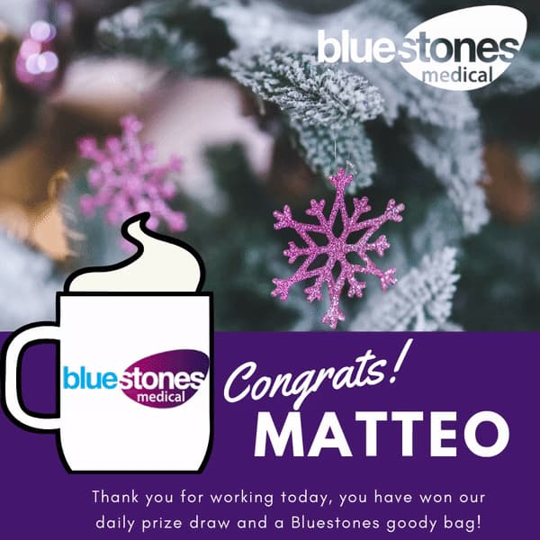 Congratulations to Matteo
