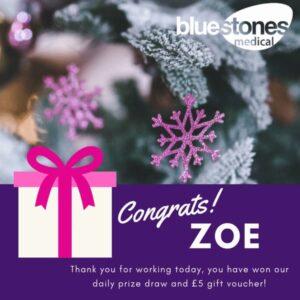 Congratulations to Zoe