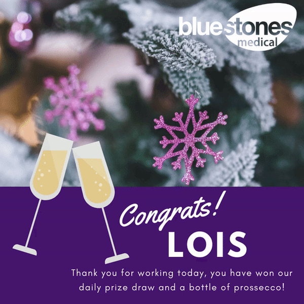 Congratulations to Lois