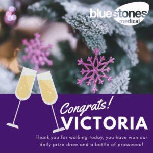 Congratulations to Victoria