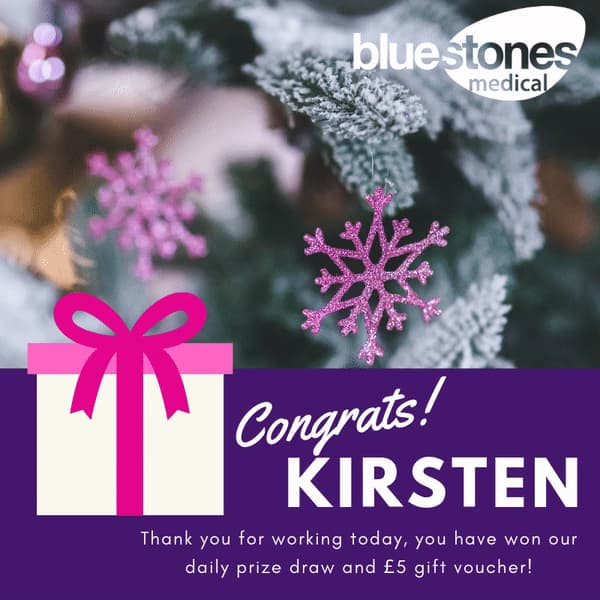 Congratulations to Kirsten