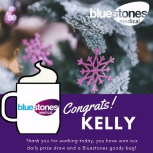 Congratulations to Kelly