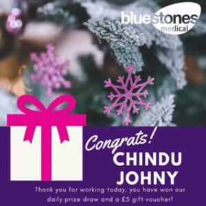 Congratulations to Chindu Johny