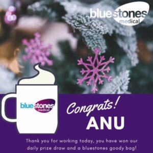 Congratulations to Anu