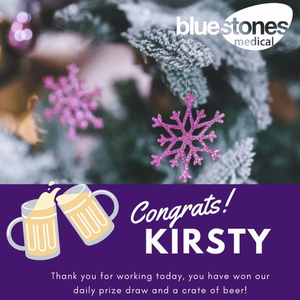 Congratulations to Kirsty