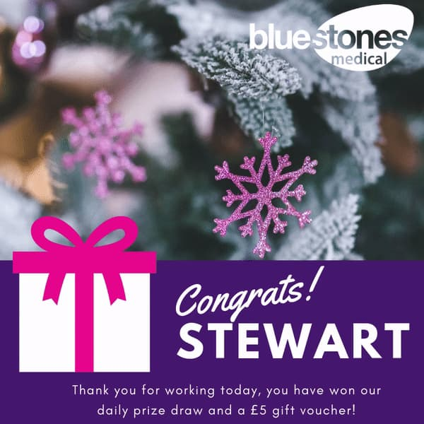 Congratulations to Stewart