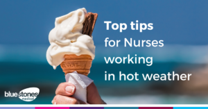 tips for nurses in hot weather